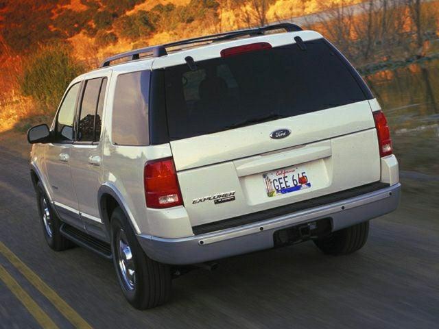 ford explorer 2002 white