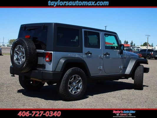 Used 2018 Jeep Wrangler Jk Unlimited Rubicon For Sale